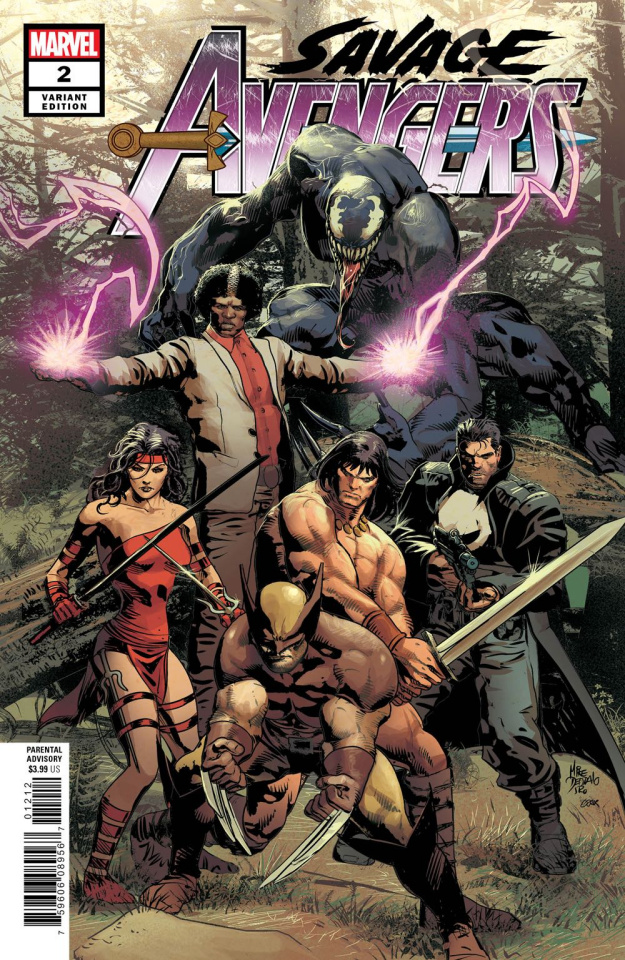 Savage Avengers #2 (Deodato Cover)