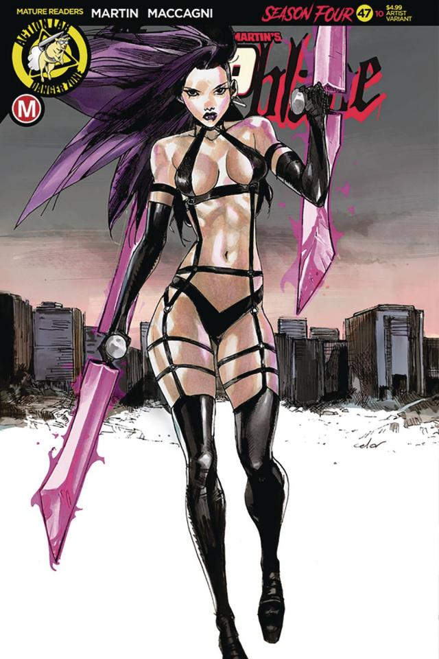 Vampblade, Season Four #10 (Celor Cover)