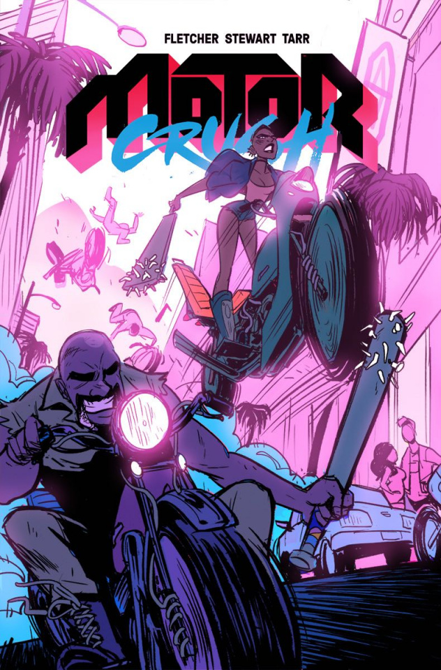 Motor Crush #10 (Tarr Cover)