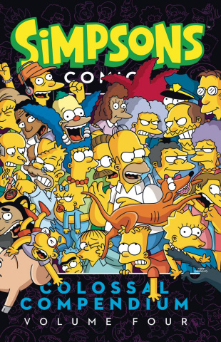 Simpsons Comics: Colossal Compendium Vol. 4