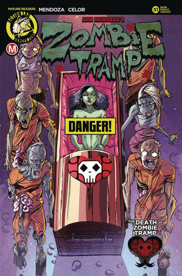 Zombie Tramp #51 (Celor Risque Cover)