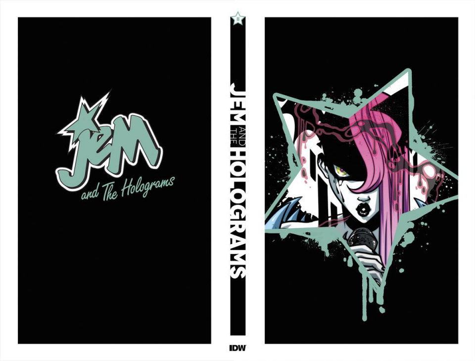 Jem and The Holograms #11 (Complete Metallic Foil Box Set)