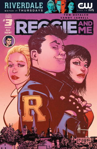 Reggie and Me #3 (Chaykin Cover)