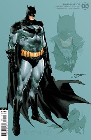 Batman #105 (1:25 Jorge Jimenez Batman Card Stock Cover)