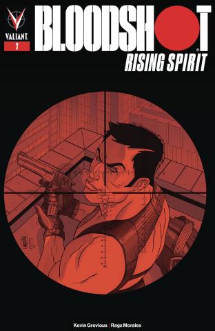 Bloodshot: Rising Spirit #7 (Jothikumar Cover)