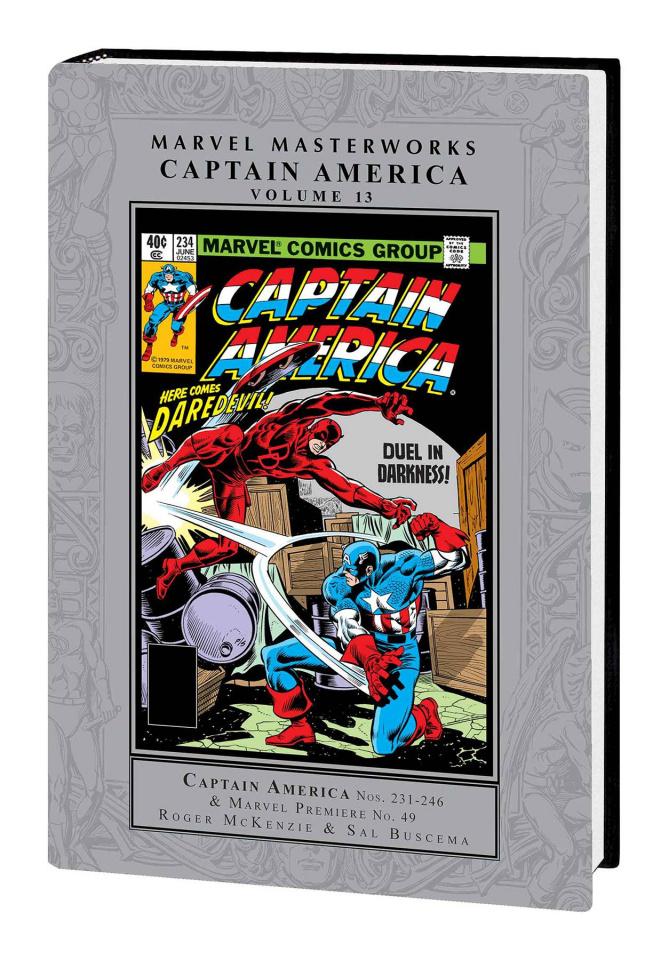 Captain America Vol. 13 (Marvel Masterworks)