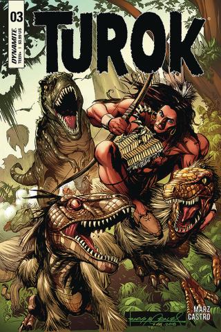 Turok #3 (Morales Cover)