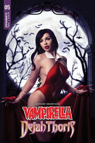 Vampirella / Dejah Thoris #5 (Vampirella Cosplay Cover)