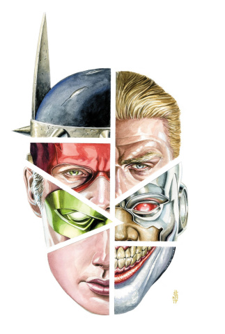 Justice League #33 (Metal Cover)