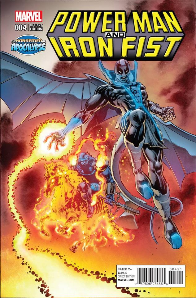 Power Man & Iron Fist #4 (Perkins AoA Cover)