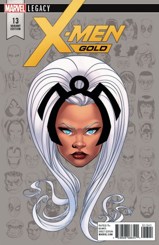 X-Men: Gold #13 (McKone Legacy Headshot Cover)