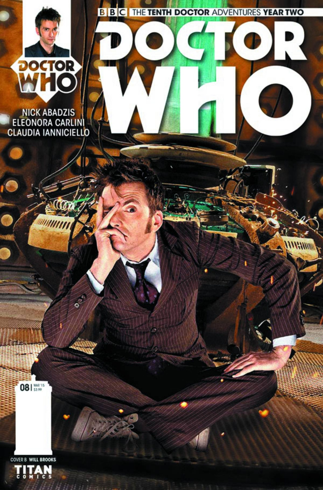 Doctor Who: New Adventures with the Tenth Doctor, Year Two #8 (Photo Cover)