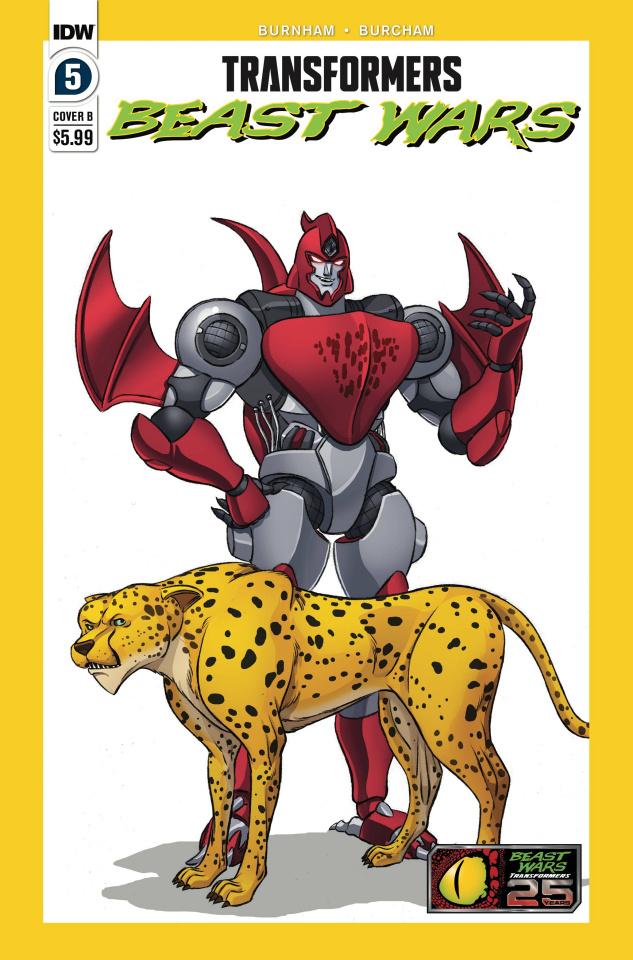 Transformers: Beast Wars #5 (Dan Schoening Cover)
