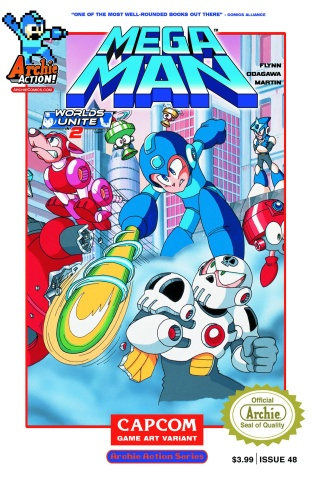 Mega Man #48 (The Doc Is In Cover)