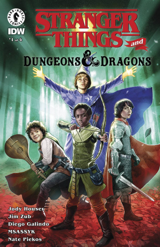 Stranger Things and Dungeons & Dragons #1 (Galindo Cover)