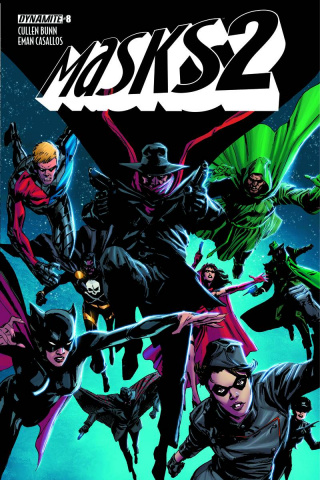 Masks 2 #8 (Guice Cover)