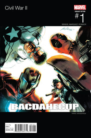 Civil War II #1 (Team Iron Man Hip Hop Cover)