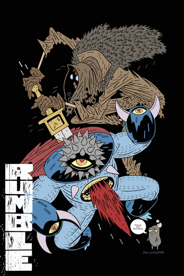 Rumble #11 (MacLean Cover)
