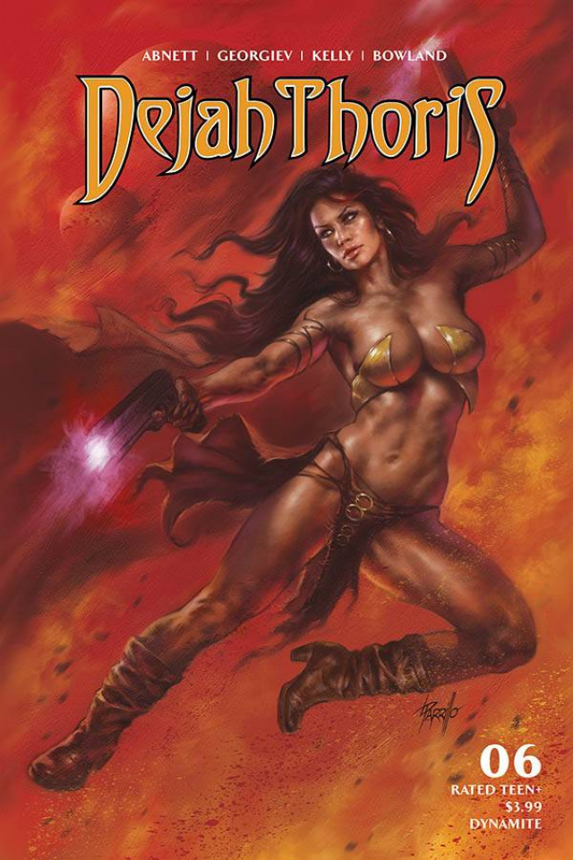 Dejah Thoris #6 (Parrillo Cover)