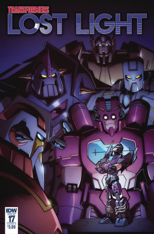 The Transformers: Lost Light #17 (Lawrence Cover)