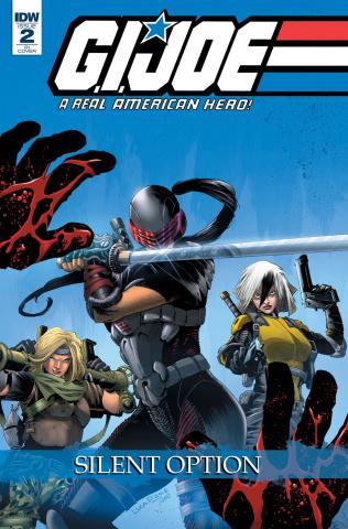 G.I. Joe: A Real American Hero - Silent Option #2 (10 Copy Cover)
