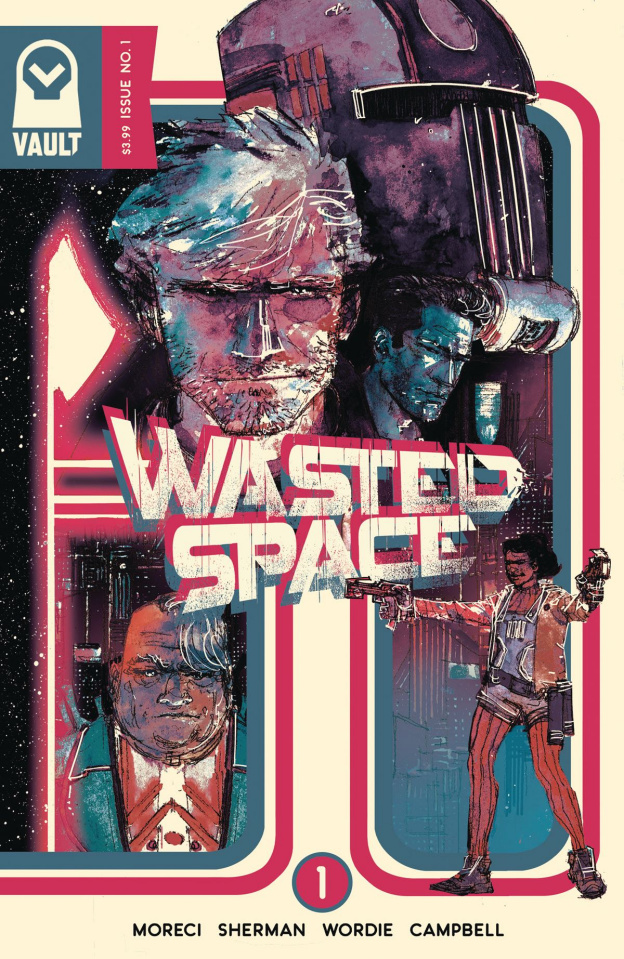 Wasted Space #1 (Sherman Cover)