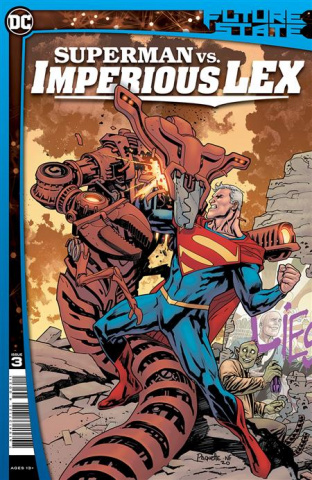 Future State: Superman vs. Imperious Lex #3 (Yanick Paquette Cover)