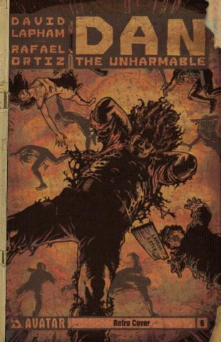 Dan the Unharmable #6 (Retro Cover)