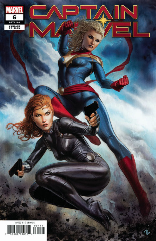 Captain Marvel #6 (Granov Cover)
