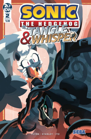 Sonic the Hedgehog: Tangle & Whisper #2 (Fourdraine Cover)