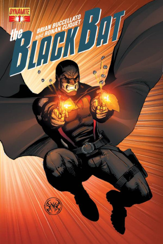 The Black Bat #1 (Benitez Cover)