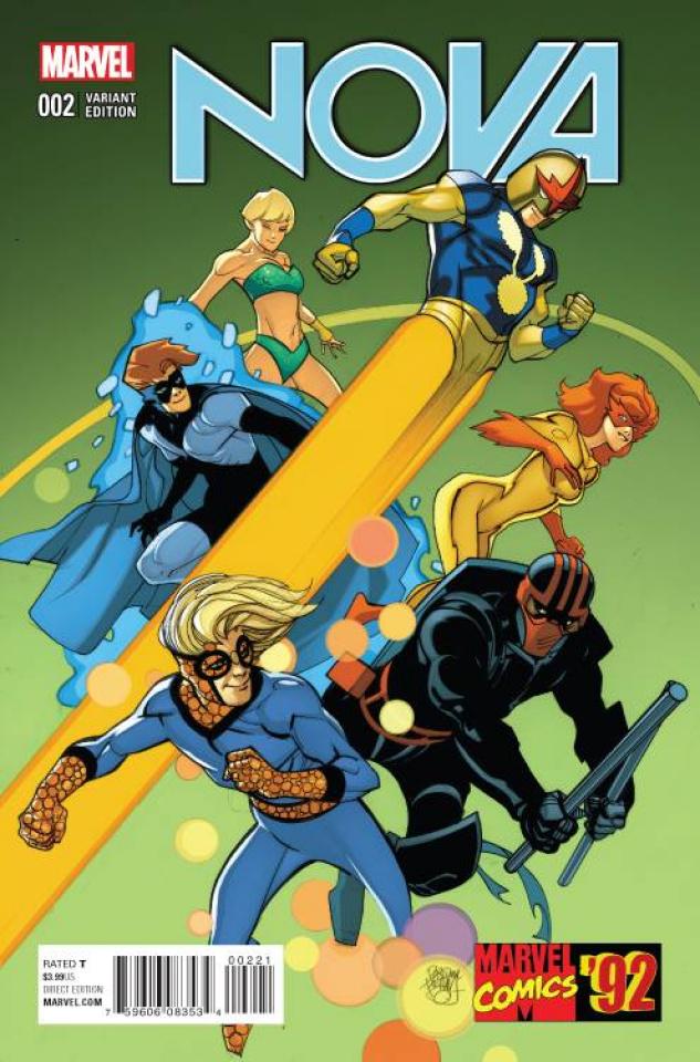 Nova #2 (Ferry Marvel '92 Cover)
