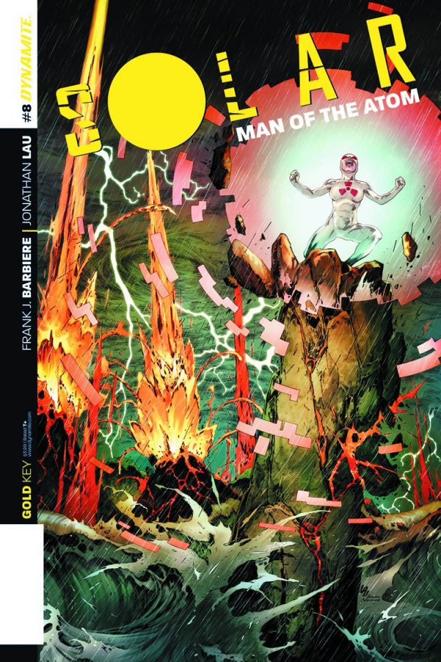 Solar: Man of the Atom #8 (Subscription Cover)