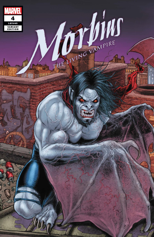 Morbius #4 (Ryp Connecting Cover)