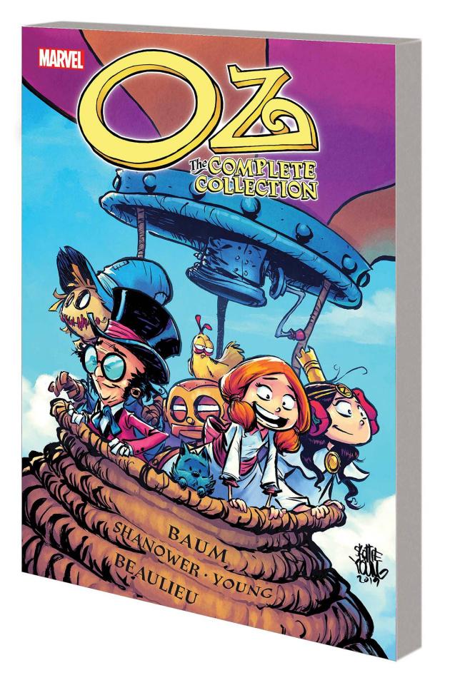 Oz;  Ozma, Dorothy & the Wizard