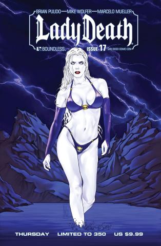 Lady Death #17 (SDCC Thursday Cover)