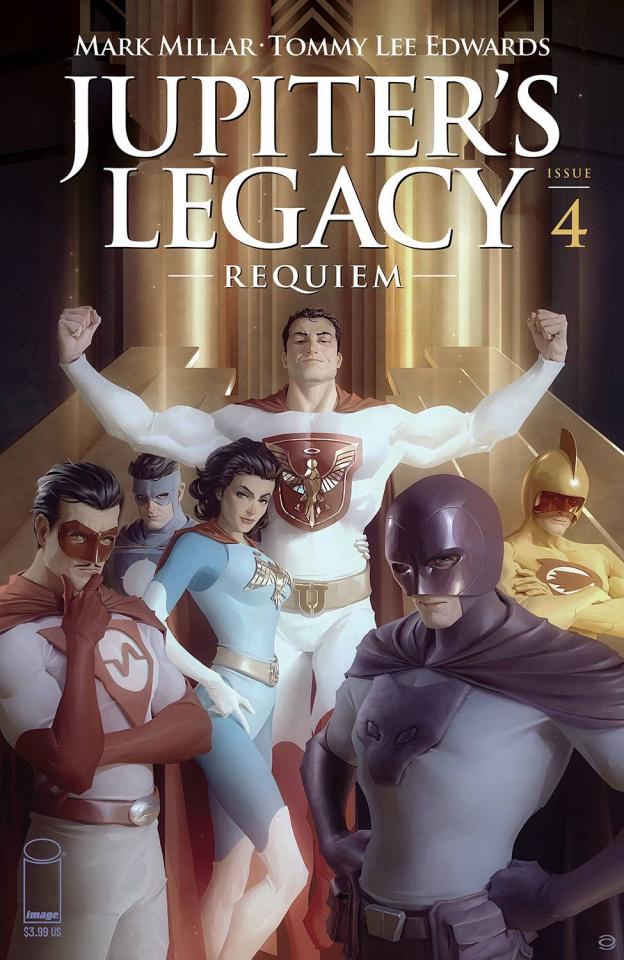 Jupiter's Legacy: Requiem #4 (Garner Cover)