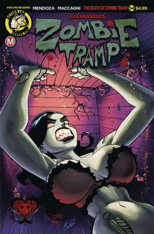 Zombie Tramp #54 (Winston Young Cover)