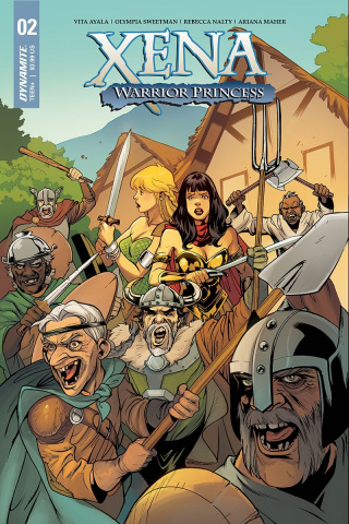 Xena: Warrior Princess #2 (Lupacchino Cover)