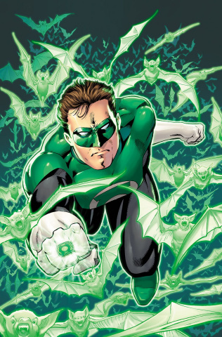Hal Jordan and The Green Lantern Corps #32 (Metal Cover)