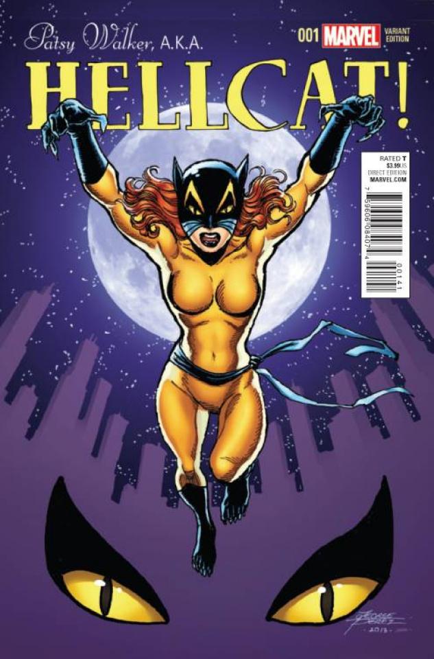 Patsy Walker, a.k.a. Hellcat #1 (Perez Cover)