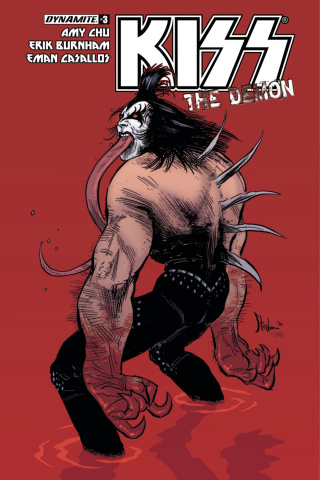 KISS: The Demon #3 (Strahm Cover)