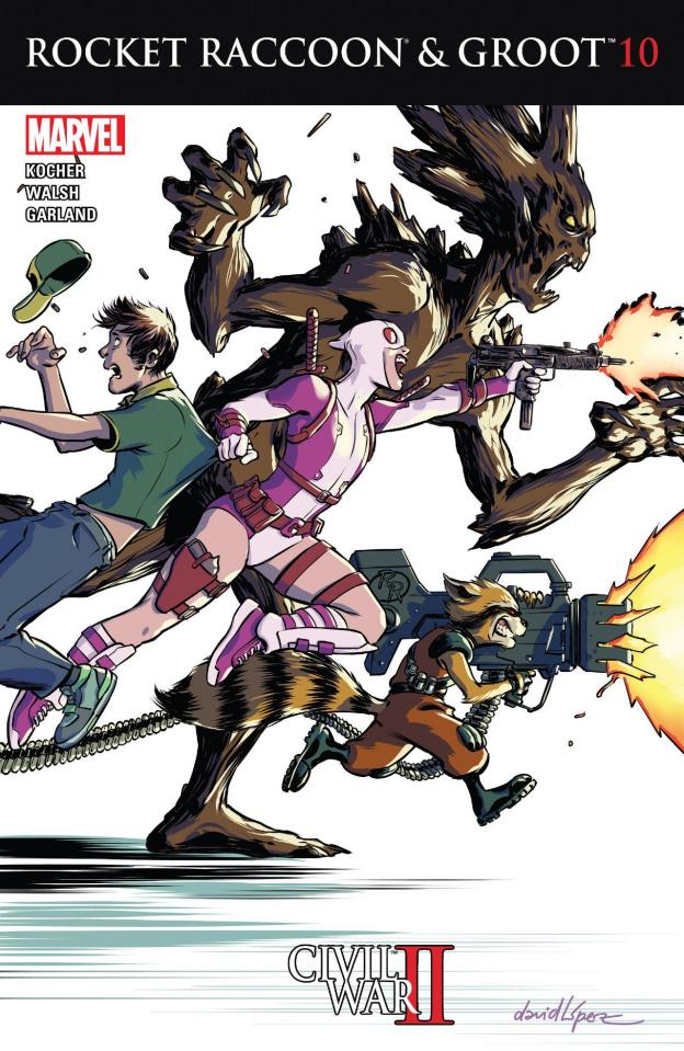 Rocket Raccoon and Groot #10