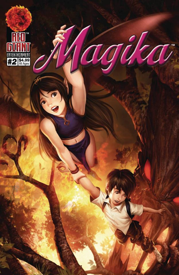 Magika #2 (Tortosa & Cheng Cover)