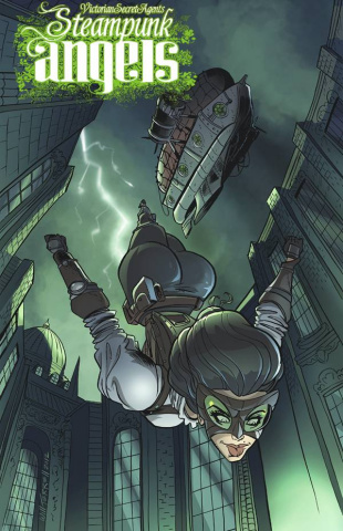 Victorian Secret Agents: Steampunk Angels #1: Ironwork Isle