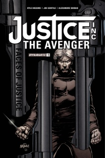Justice Inc.: Faces of Justice #1 (Mandrake Cover)