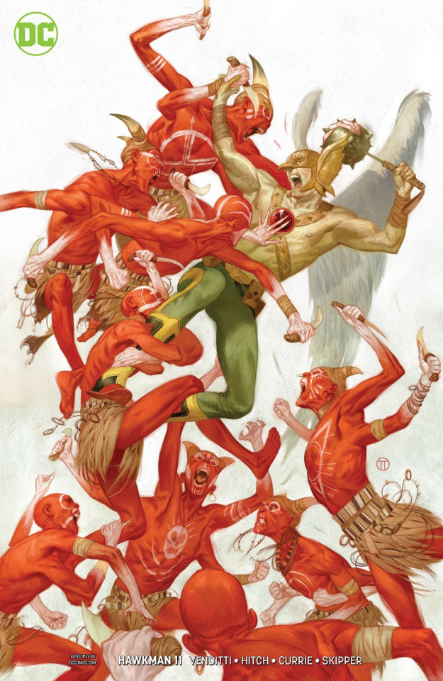 Hawkman #11 (Variant Cover)