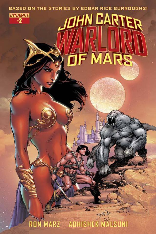 John Carter: Warlord of Mars #2 (Benes Cover)
