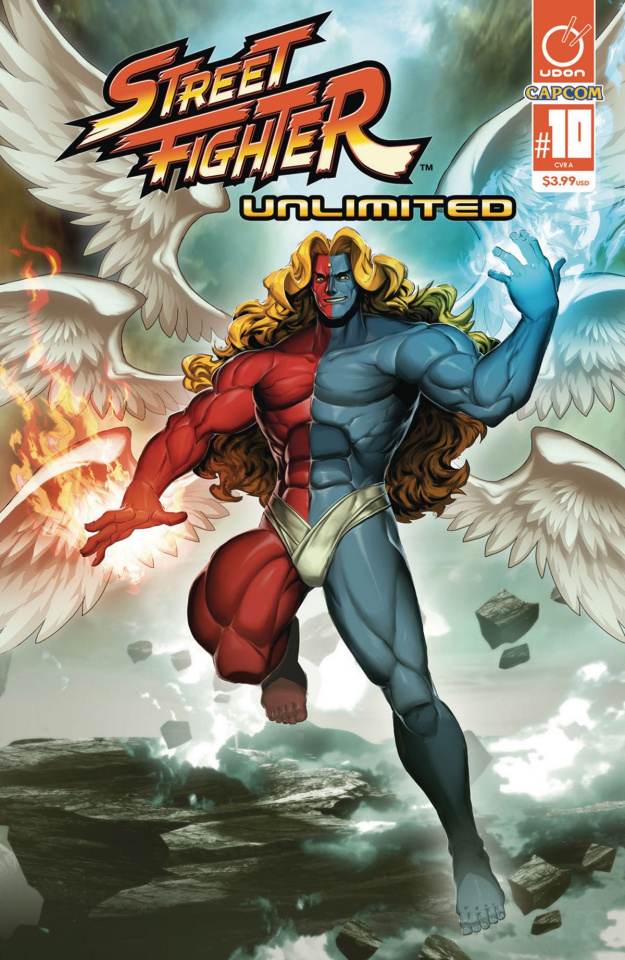 Street Fighter Unlimited #10 (Genzoman Story Cover)