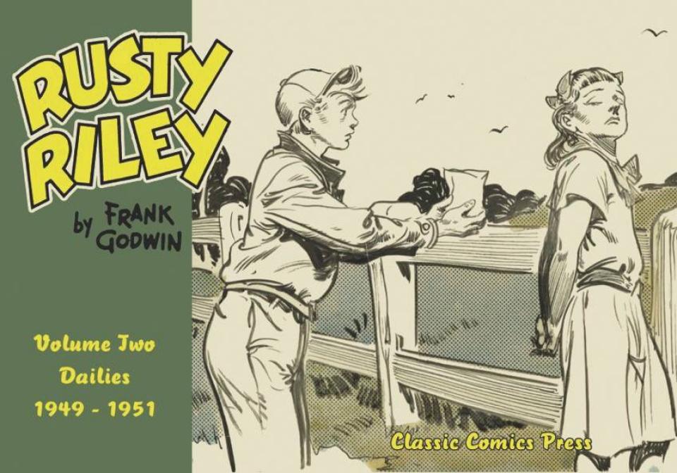 Rusty Riley Vol. 2: Dailies, 1949-1951